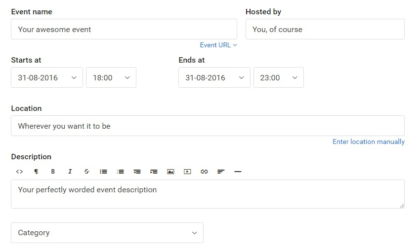 How to sell event tickets with Billetto. Event basics.