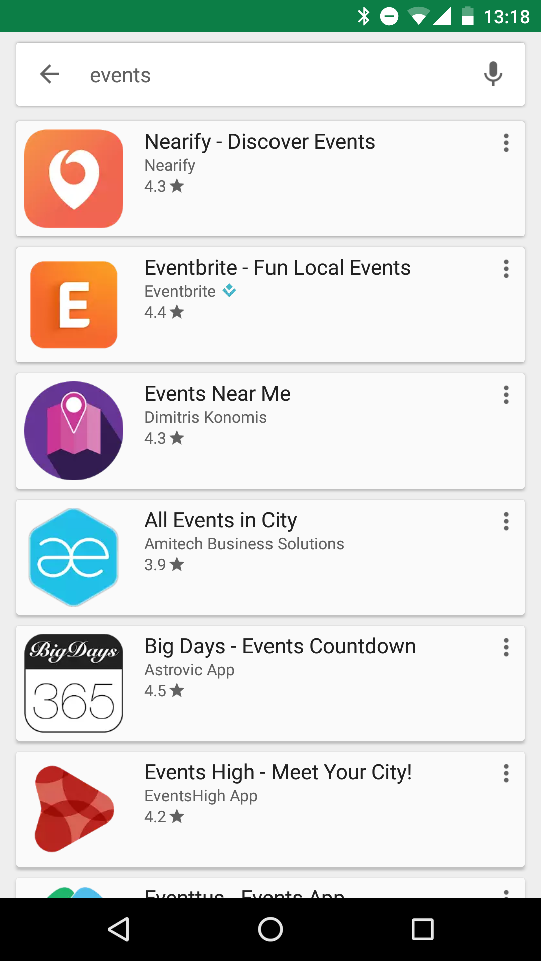 Where to find events: Smartphone apps for event discovery