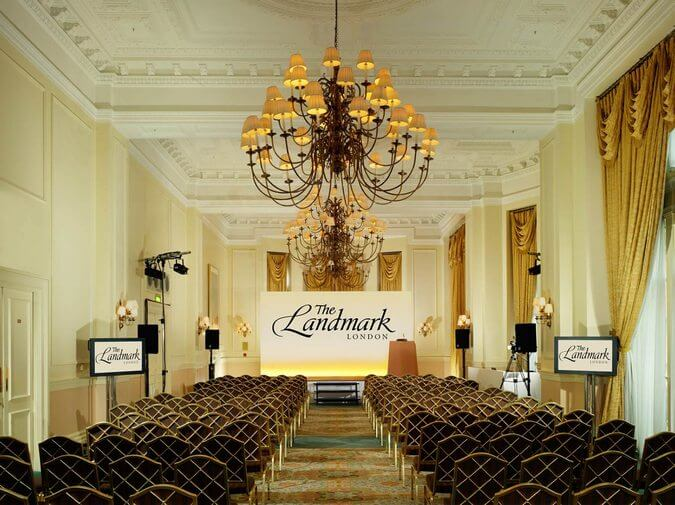 Hotels with conference facilities: The Landmark Hotel