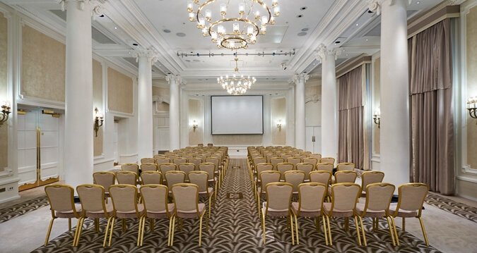 Hotels with conference facilities: The Waldorf Hilton