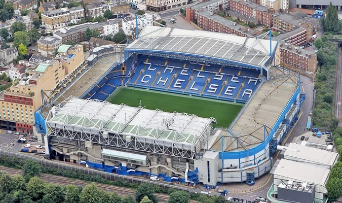 Stadiums - unique event venues in London: Stamford Bridge
