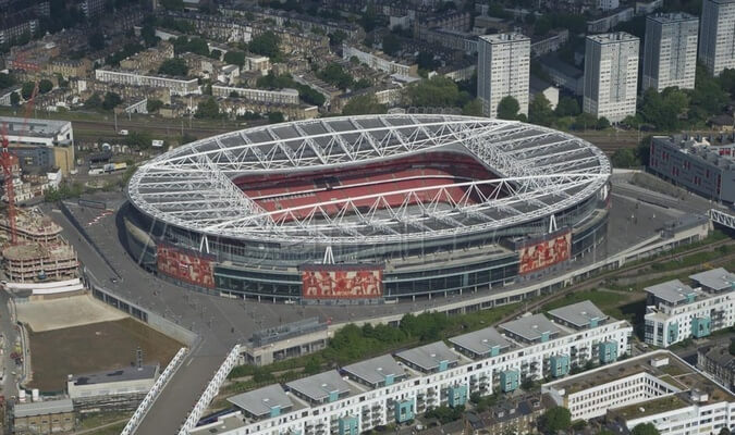 Stadiums - unique event venues in London: Emirates Stadium