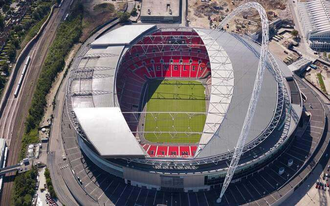 Stadiums - unique event venues in London: Wembley Stadium