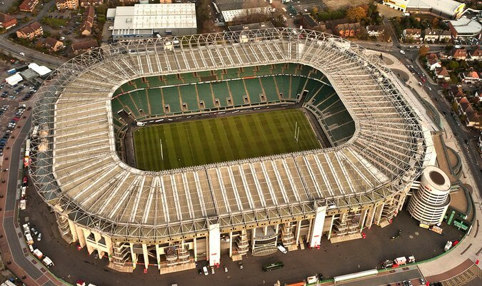 Stadiums - unique event venues in London: Twickenham Stadium