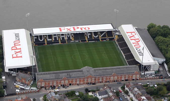 Stadiums - unique event venues in London: Craven Cottage