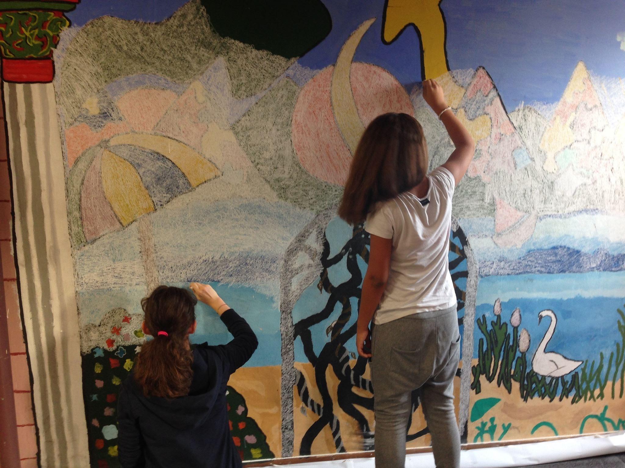 wall gessetti (restauro vecchi murales)