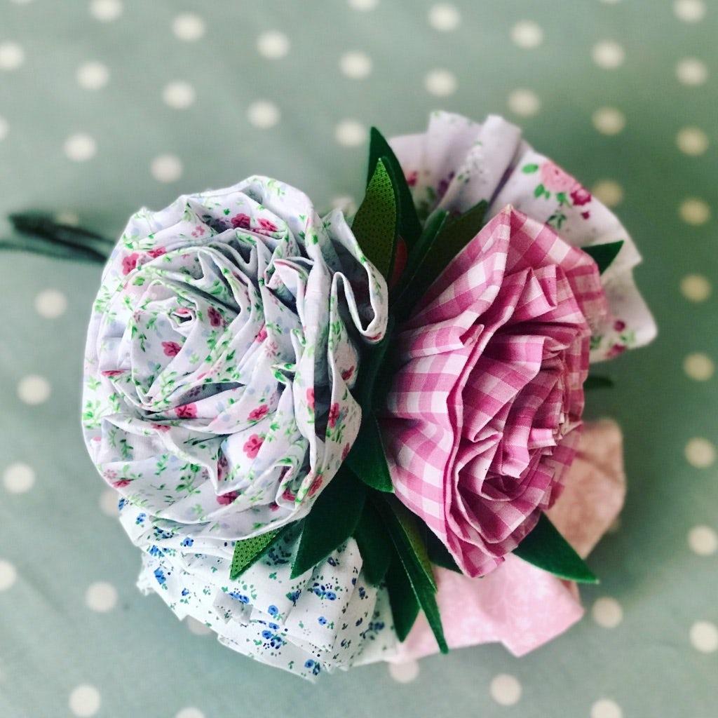 Make A Fabric Flower Bouquet Tickets Ampthill Courses