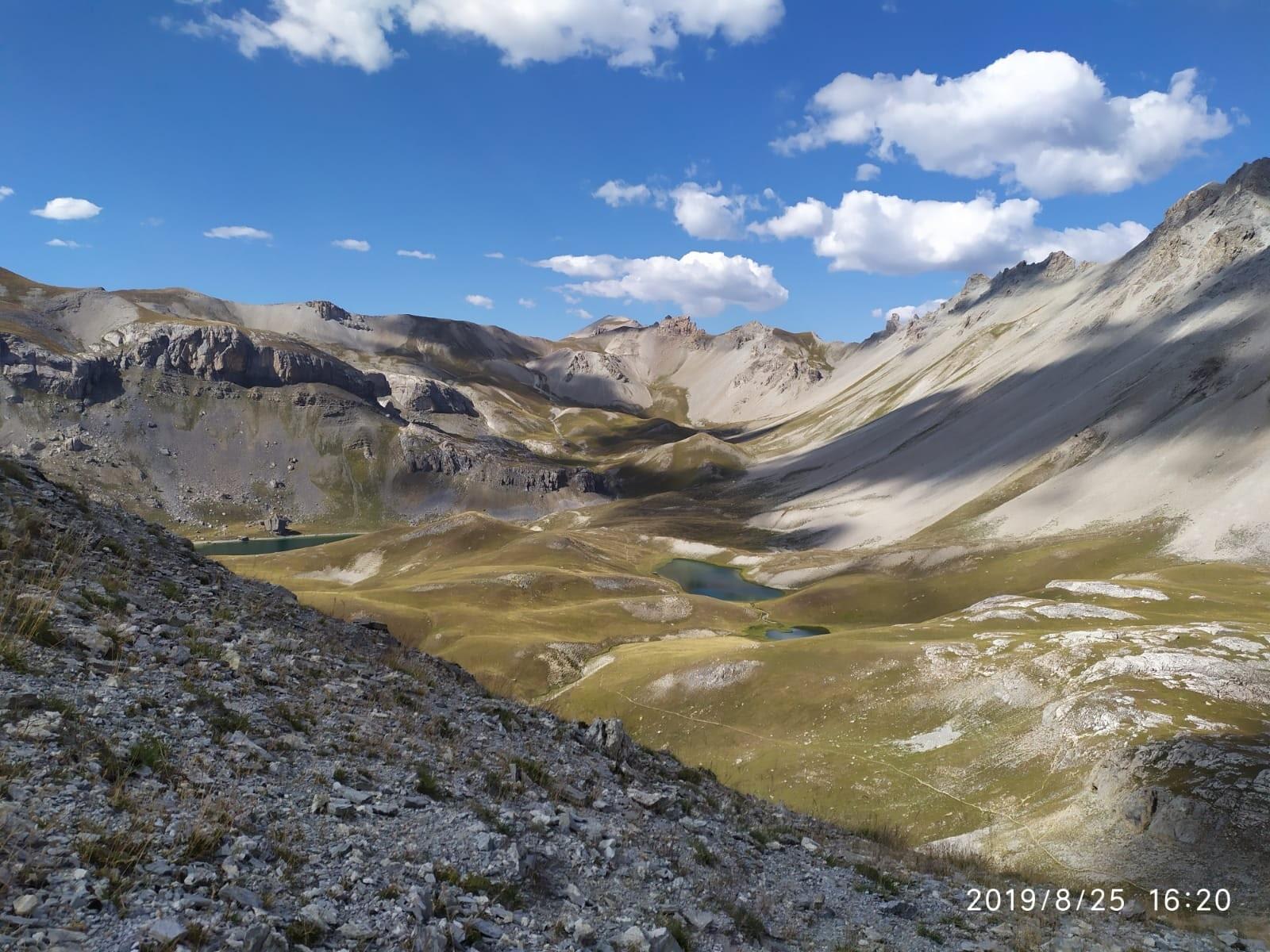 Lac de noel from Peyron pass
