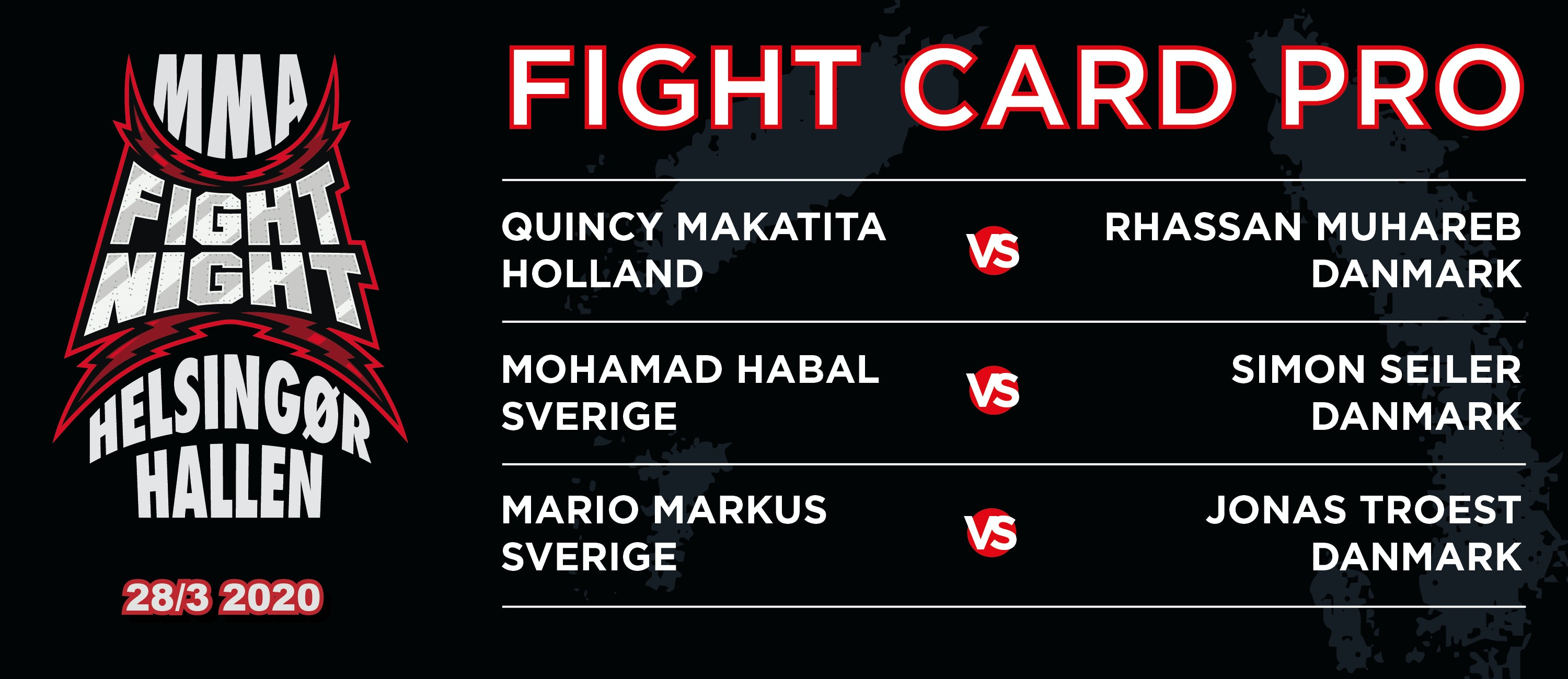 Fight Card Pro