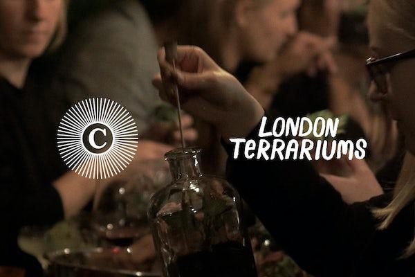 London Terrariums Demijohn Workshop at The Culpeper
