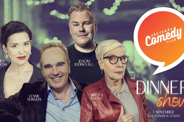 Västerås Comedy Club - Dinner Show med Lennie Norman