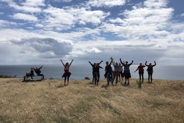 2-dages luksus-vandretur på øhavsstien for kvinder