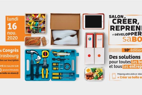 Salon Créer, Reprendre et Développer sa boîte en Alsace
