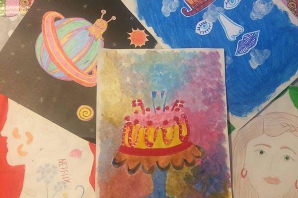 Tegne- og malekursus for børn