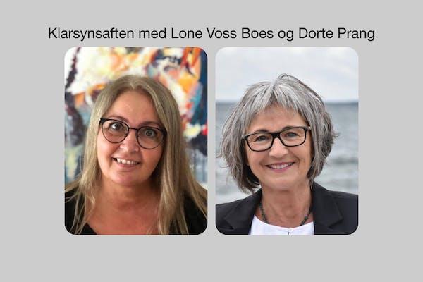 klarsyn med Lone Voss Boes og Dorte Prang