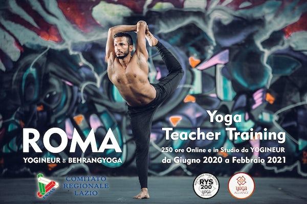 Yoga Teacher Training online/ Yogineur Studio