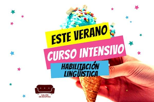 Habilitación lingüística - cursos intensivos de verano presenciales y online