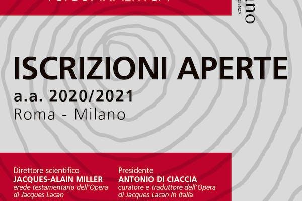 Iscrizioni aperte Istituto freudiano a.a. 2020/21