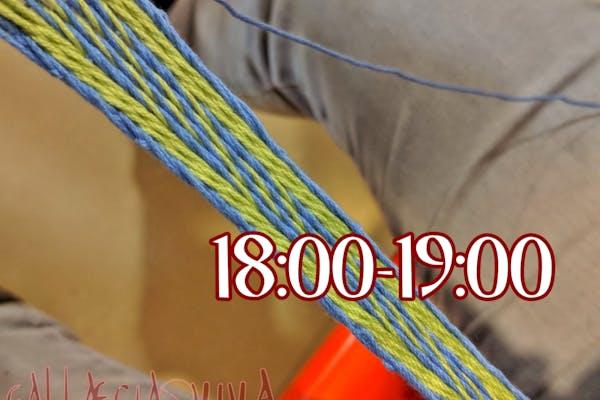 Taller: Tablet Weaving (18:00-19:00)