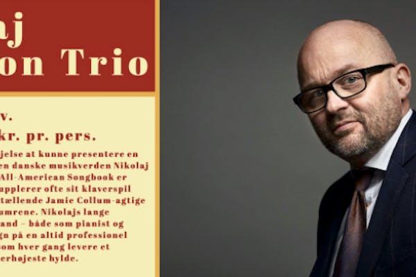 Jazz Nikolaj Bentzon Trio + frokostbuffet